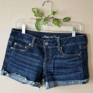 AMERICAN EAGLE Stretch Jean Shorts!